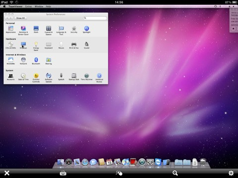 TeamViewer HD mac