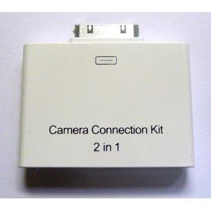 iPad用 2in1 カメラコネクションキット