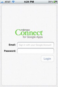 Memeo Connect Reader (Google Docs)