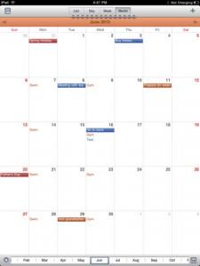 Calendars - Google Calendar client_2